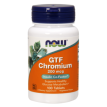 Now Foods GTF Chromium 200 mcg 100  kapszula