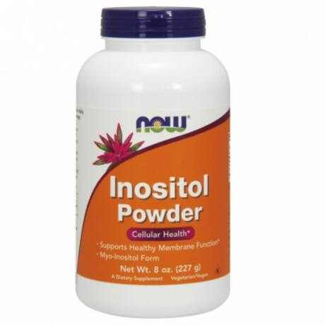 NOW Inositol Powder Vegetarian - 8 oz.
