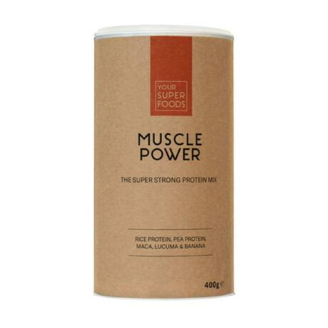 ORGANIC MUSCLE POWER PROTEIN MIX 400G