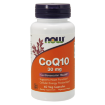 NOW CoQ10 30 mg - 60 Veg Capsules