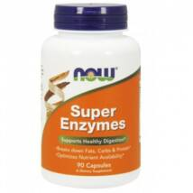 NOW Super Enzymes - 90 Capsules-500x500